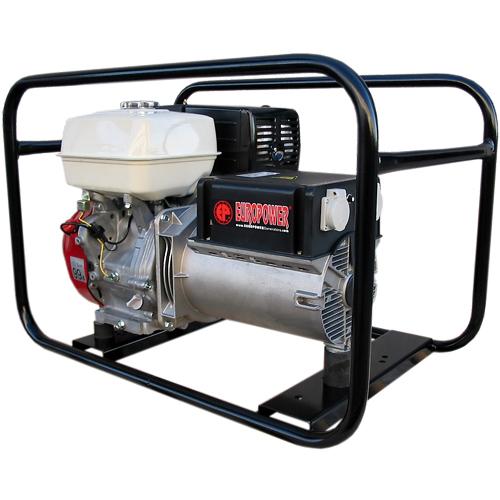 Генератор бензиновый Europower EP 6500 T 3X230V для ж/д в Омске