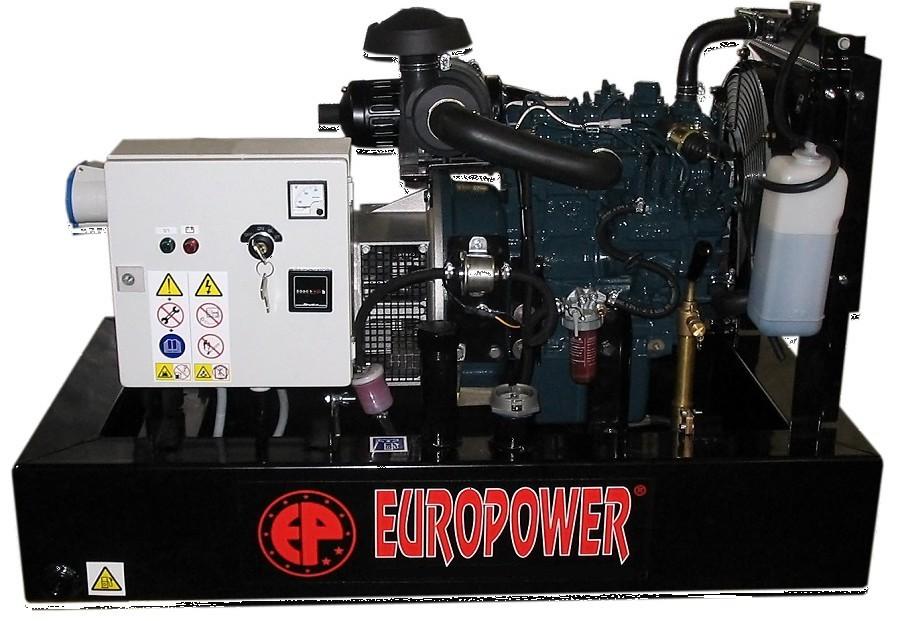 Генератор дизельный Europower EP 30 DE в Омске