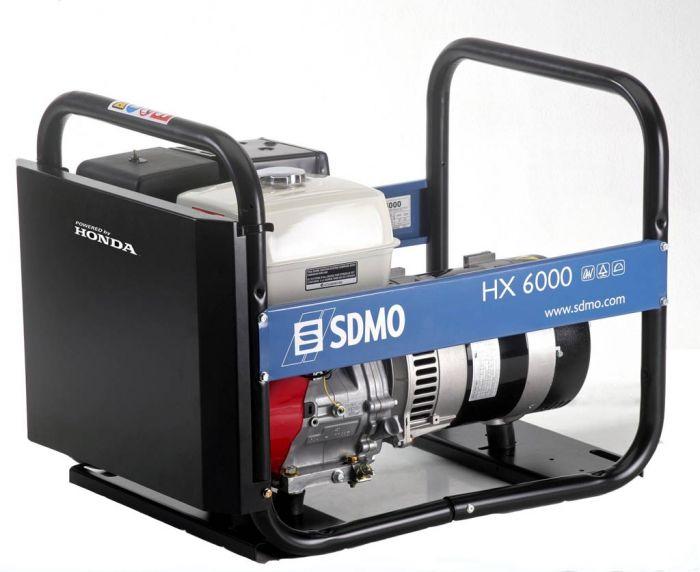 Генератор SDMO HX 6000-S в Омске